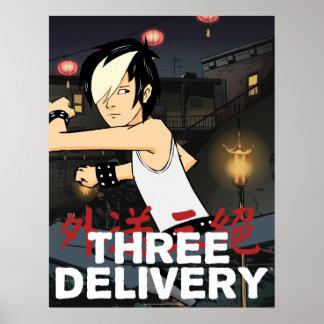Drei Delivery™ Tobey Plakat