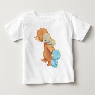 Drei entzückende Bärn-Freunde Baby T-shirt