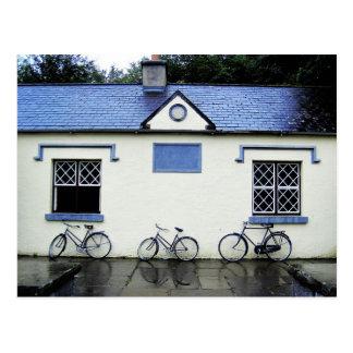 Drei Fahrräder in Landkreis Clare, Irland Postkarte