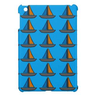 Drei farbige Segelboote iPad Mini Hülle