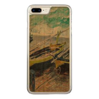 Drei Fischerboote durch Claude Monet Carved iPhone 8 Plus/7 Plus Hülle