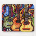 Drei Gitarren Mousepad