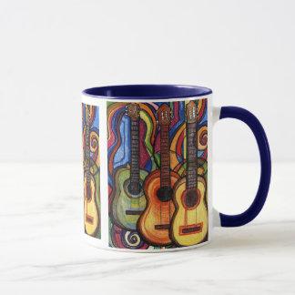 Drei Gitarren Tasse