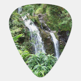 Drei hawaiisches Wasserfall-Plektrum Plektron