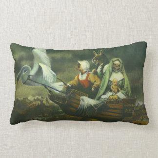 Drei Hexe-gotisches Kissen