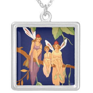 """""""Drei in einem Baum"""" Halskette"""