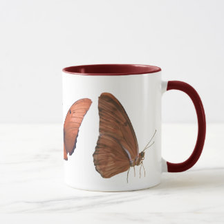 Drei Julia-Schmetterlinge Tasse