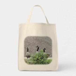 Drei kanadische Gans-Natur-Taschen-Tasche Tragetasche