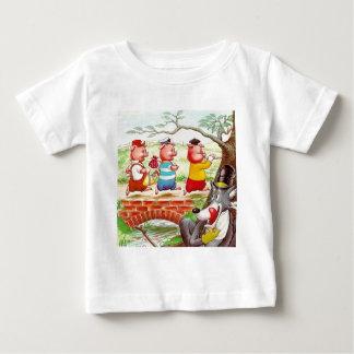 Drei kleine Schweine Baby T-shirt
