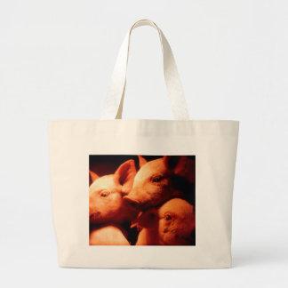 Drei kleine Schweine Jumbo Stoffbeutel