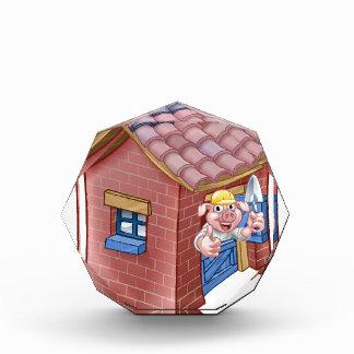 Drei kleines Schwein-Märchen-Stroh-Haus Auszeichnung