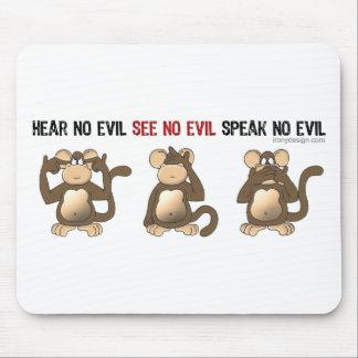 Drei kluge Affen Mousepads