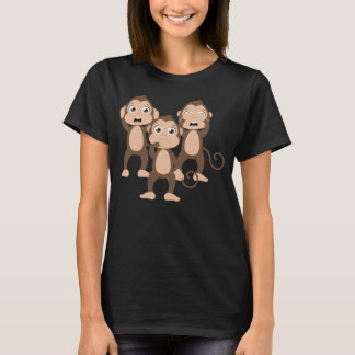 Drei kluge Affen T-Shirt