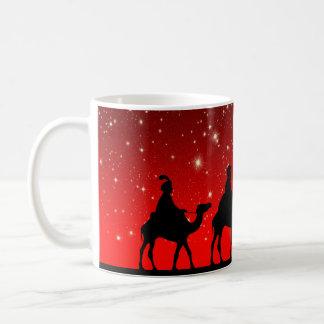Drei kluge Mann-WeihnachtsTasse Tasse