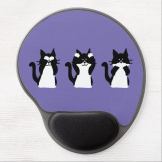 Drei kluges Kätzchen Gel Mouse Matte