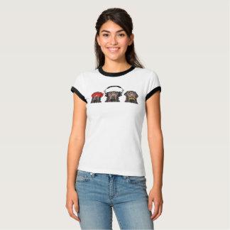 Drei kluges Labradors T-Shirt
