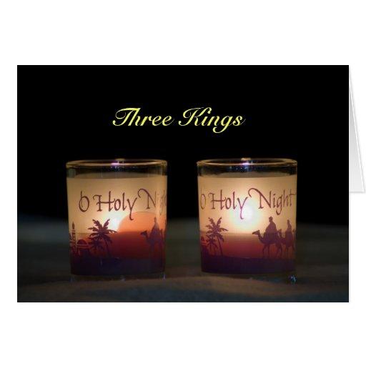 Drei Könige Christmas Grußkarte