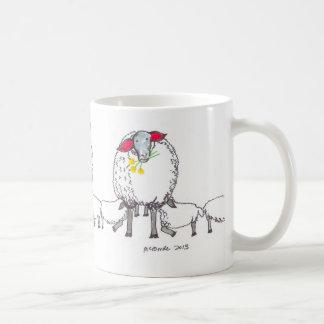 Drei kornische Mutterschafe Kaffeetasse