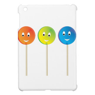 Drei lächelnde Lutscher iPad Mini Hülle