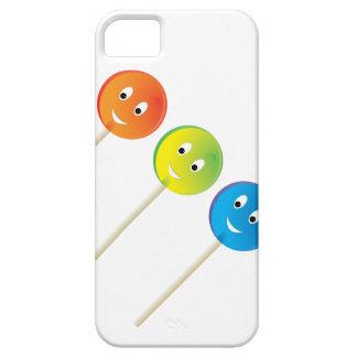 Drei lächelnde Lutscher iPhone 5 Etui