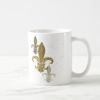 Drei Lilie Kaffeetasse