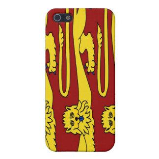 Drei Löwen England iPhone 5 Etuis