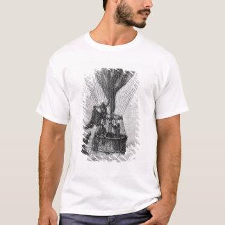 Drei Männer in einer Gondel T-Shirt
