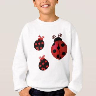 Drei Marienkäfer Sweatshirt