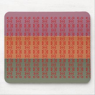 Drei Metallendfarbstreifen - ccc-Muster Mauspad