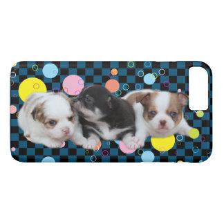 Drei niedliche Welpen (Hunde) iPhone 8 Plus/7 Plus Hülle
