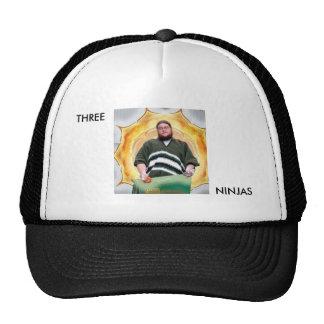 Drei Ninjas Fernlastfahrer-Hut Caps