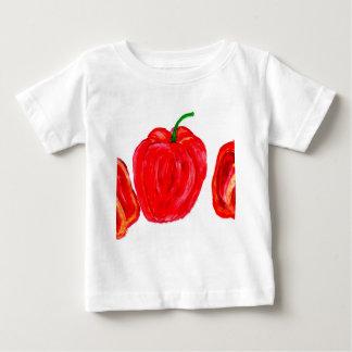 Drei Paprikaschoten-Kunst Baby T-shirt