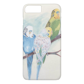 Drei Parakeets iPhone 7 Plus Hülle