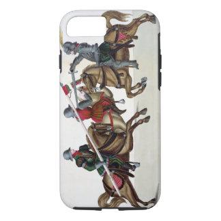 Drei Ritter an einem Turnier, Platte von 'einem iPhone 8/7 Hülle