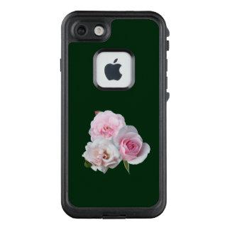 Drei rosa Rosen LifeProof FRÄ' iPhone 8/7 Hülle