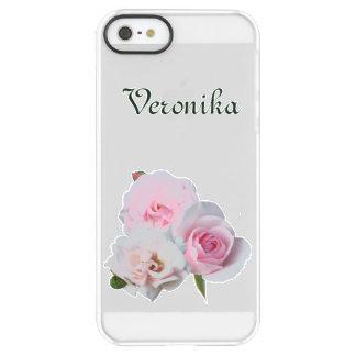 Drei rosa Rosen Permafrost® iPhone SE/5/5s Hülle