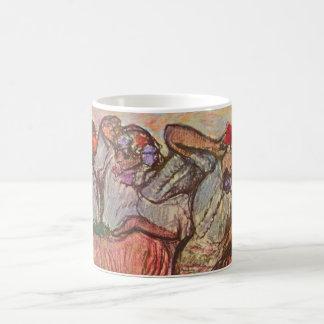Drei russische Tänzer durch Edgar Degas Kaffeetasse