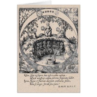 Drei Schwestern Alchimie Karte