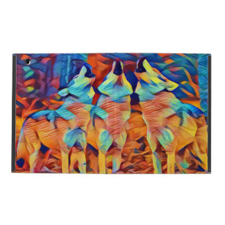 Drei singende Wölfe Hülle Fürs iPad