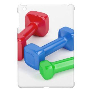 Drei verschiedene Dumbbells iPad Mini Hülle