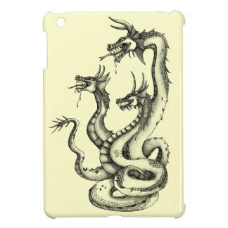 Drei vorangegangener Hydra-Entwurf Hüllen Für iPad Mini