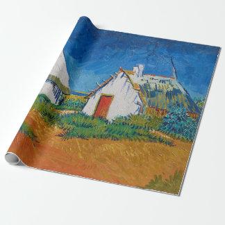 Drei weiße Hütten in Saintes-Maries durch Vincent Geschenkpapier