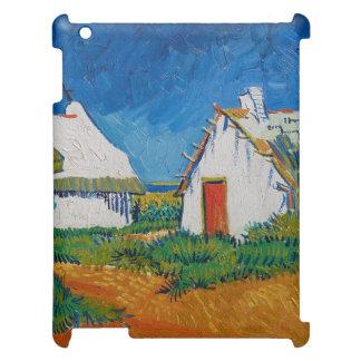 Drei weiße Hütten in Saintes-Maries durch Vincent Hüllen Für iPad