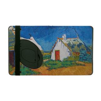 Drei weiße Hütten in Saintes-Maries durch Vincent iPad Etuis