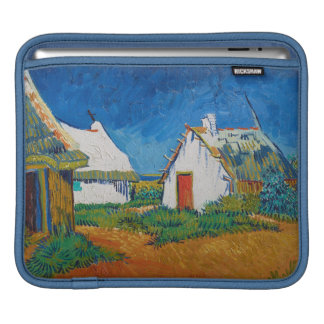 Drei weiße Hütten in Saintes-Maries durch Vincent iPad Sleeve