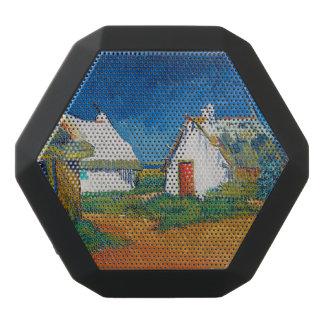 Drei weiße Hütten in Saintes-Maries durch Vincent Schwarze Bluetooth Lautsprecher