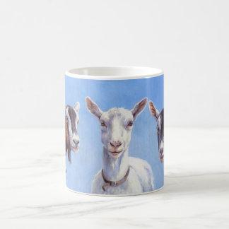 Drei Ziegen Kaffeetasse