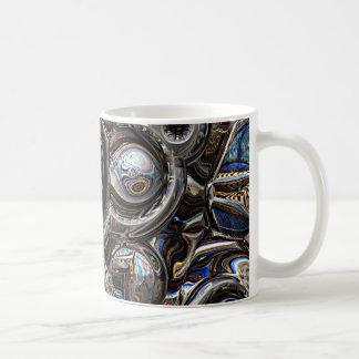 Dreidimensionale Reflexionen Kaffeetasse
