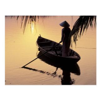 Dreieck Asiens, Vietnam, der Mekong, Can Tho. Postkarte
