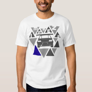 Dreieck-Auto - Impreza- T Shirt